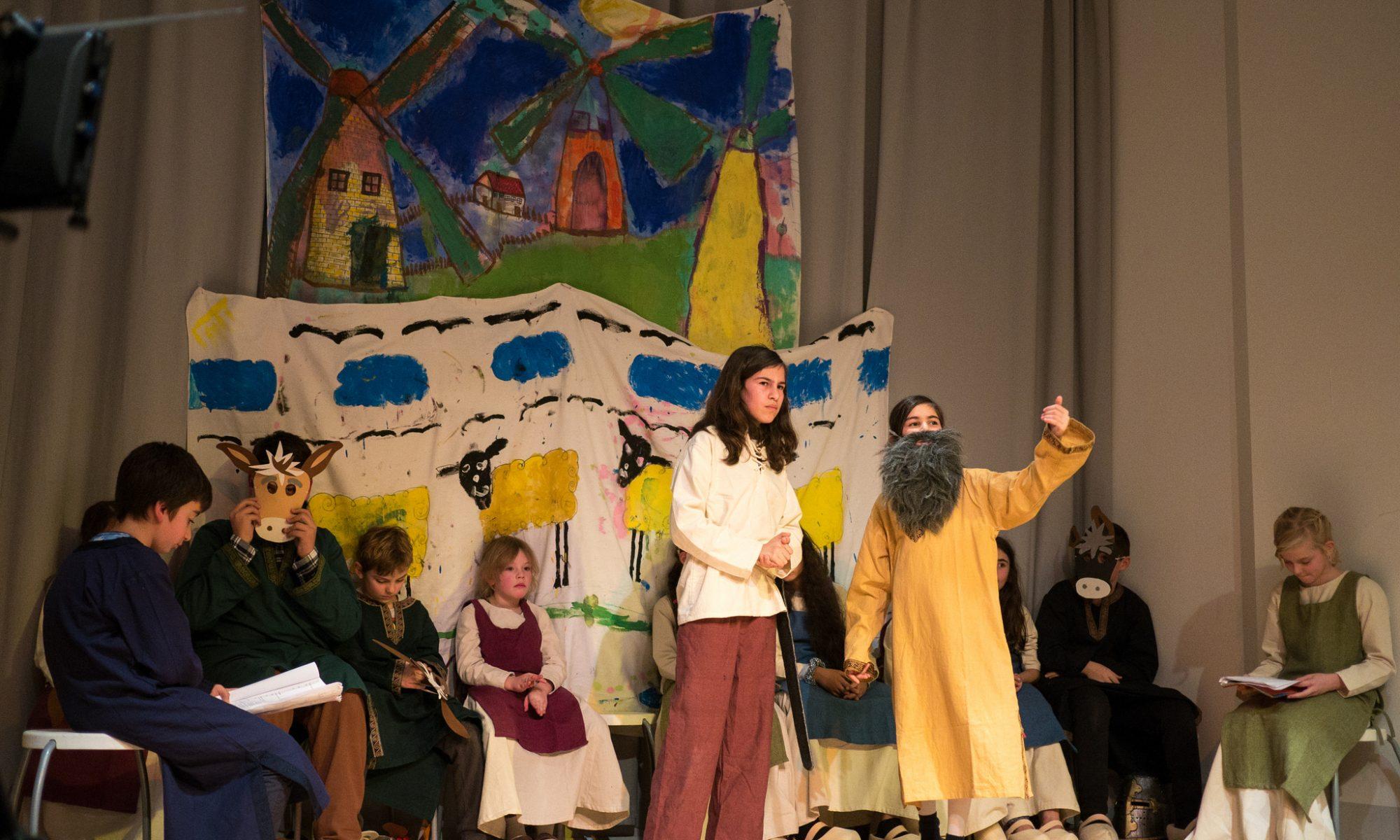 Theaterstück mit Kindern